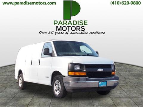 2004 Chevrolet Express Cargo for sale in Elkton, MD