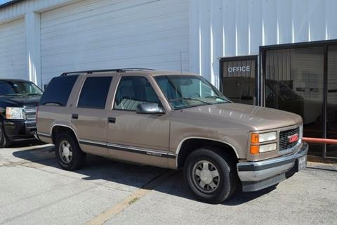 1996 GMC Yukon for sale in Burkburnett, TX