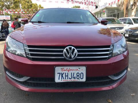 2015 Volkswagen Passat for sale at EXPRESS CREDIT MOTORS in San Jose CA