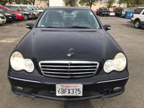2007 Mercedes-Benz C-Class for sale at EXPRESS CREDIT MOTORS in San Jose CA