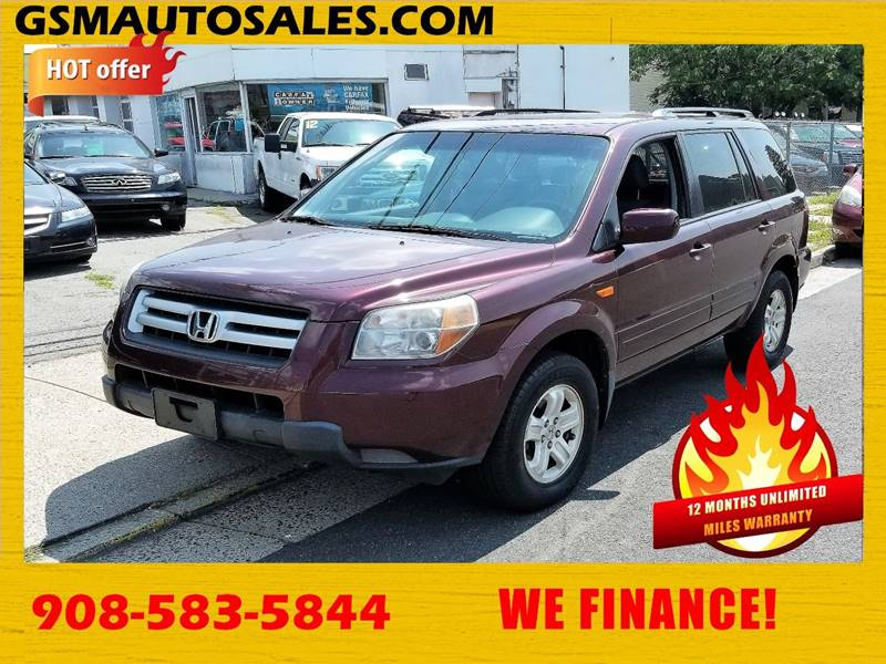 2008 Honda Pilot For Sale At GSM Auto Sales In Linden NJ