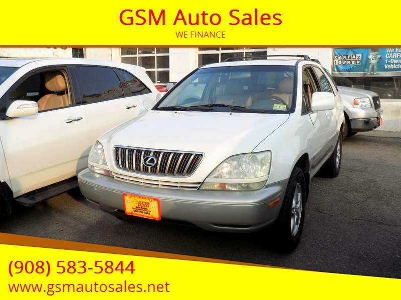 2003 Lexus RX 300 For Sale At GSM Auto Sales In Linden NJ