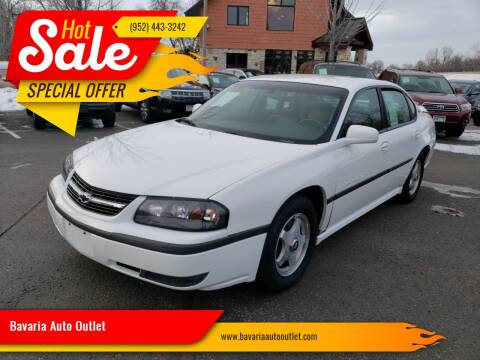2000 Chevrolet Impala for sale at Bavaria Auto Outlet in Victoria MN