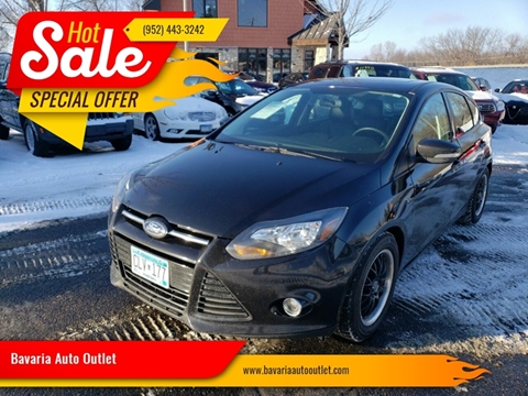 2014 Ford Focus for sale at Bavaria Auto Outlet in Victoria MN