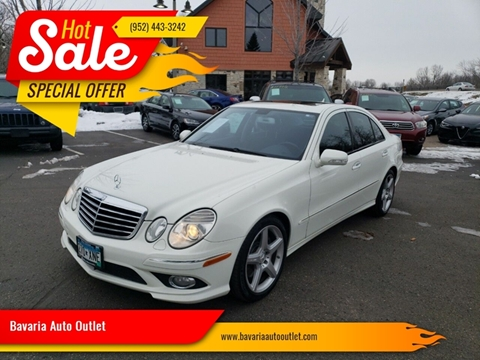 2008 Mercedes-Benz E-Class for sale at Bavaria Auto Outlet in Victoria MN
