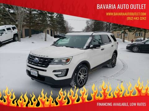 2017 Ford Explorer for sale at Bavaria Auto Outlet in Victoria MN
