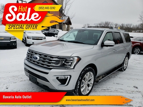 2018 Ford Expedition MAX for sale at Bavaria Auto Outlet in Victoria MN