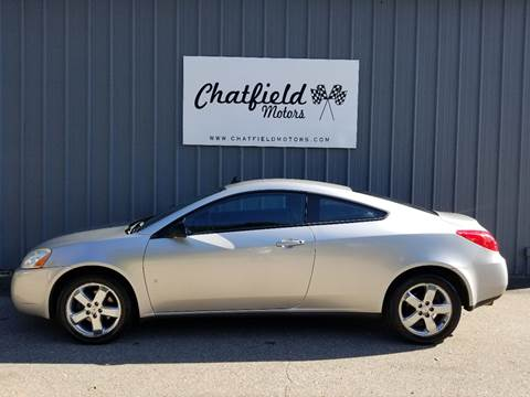 2008 Pontiac G6 for sale in Chatfield, MN