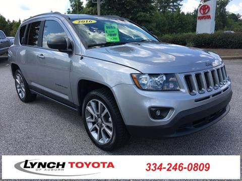 Lovely 2016 Jeep Compass For Sale In Auburn, AL