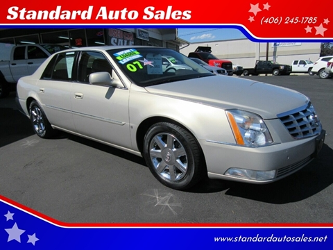 2007 Cadillac DTS for sale in Billings, MT