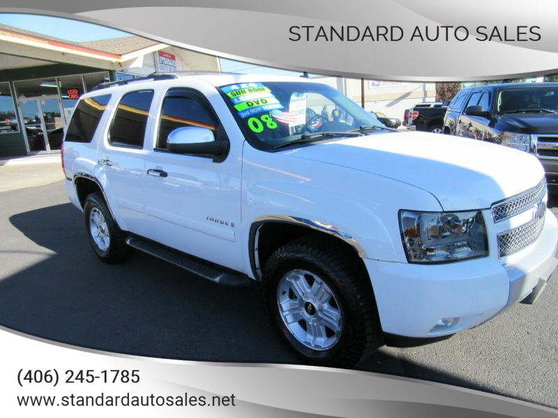 2008 Chevrolet Tahoe for sale at Standard Auto Sales in Billings MT