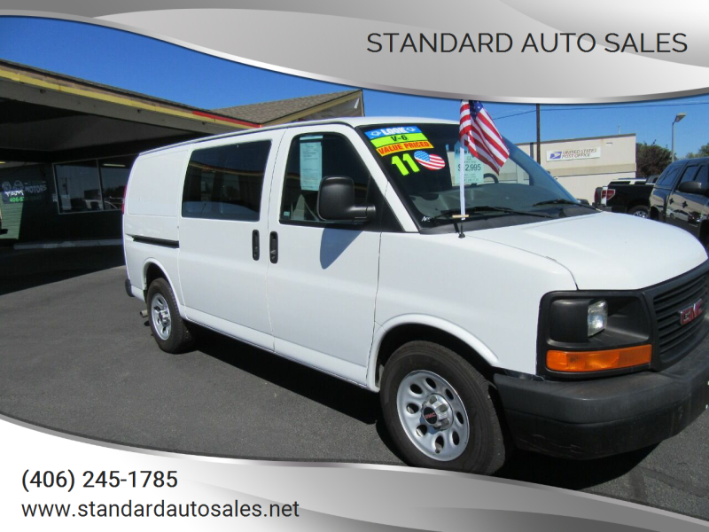 2011 GMC Savana Cargo for sale at Standard Auto Sales in Billings MT
