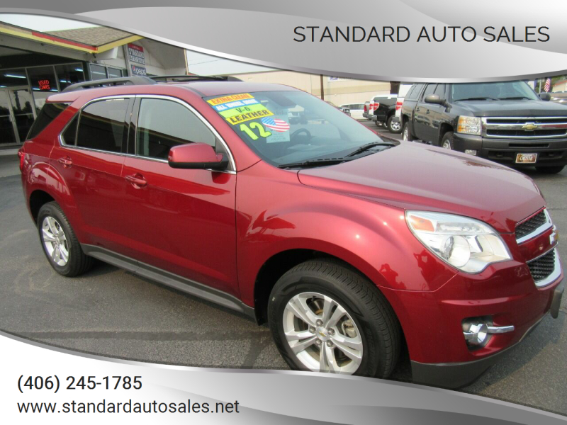 2012 Chevrolet Equinox for sale at Standard Auto Sales in Billings MT