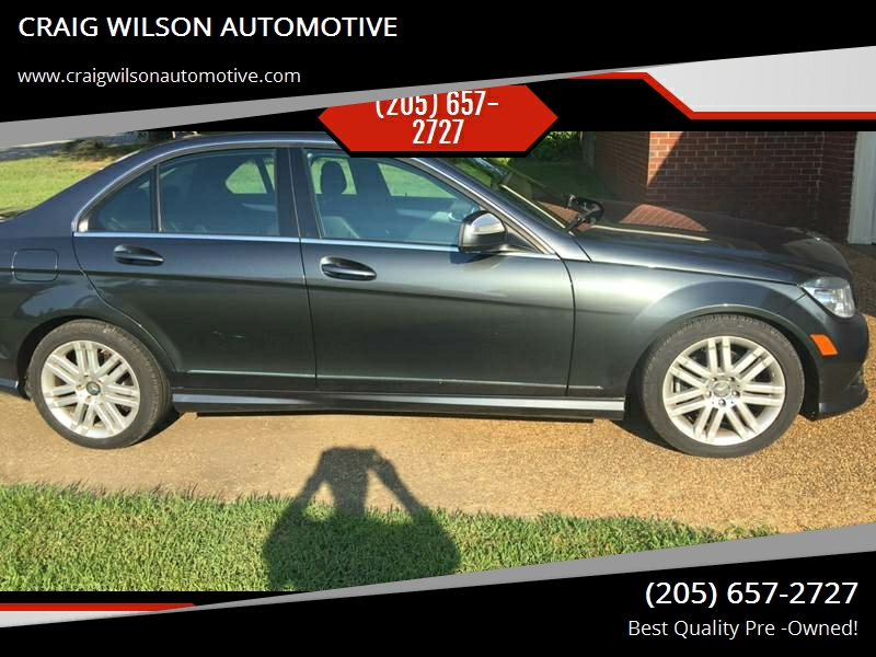 2008 Mercedes Benz C Class For Sale At CRAIG WILSON AUTOMOTIVE In Tuscaloosa  AL
