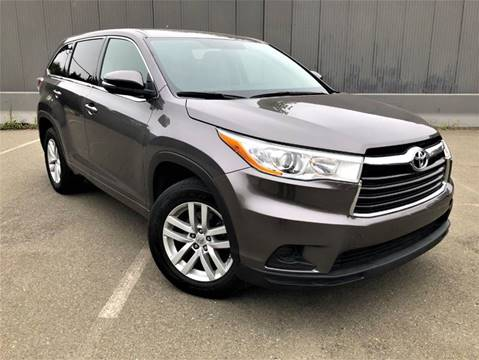 2014 Toyota Highlander for sale at Planet Cars in Berkeley CA