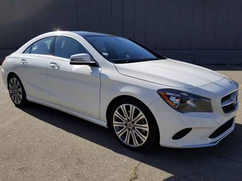 2018 Mercedes-Benz CLA for sale at Planet Cars in Berkeley CA