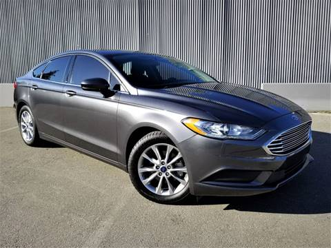 2017 Ford Fusion for sale at Planet Cars in Berkeley CA