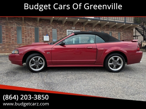 Convertible For Sale In Greenville Sc Budget Cars Of