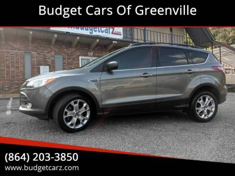 2013 Ford Escape SE for sale at Budget Cars Of Greenville in Greenville SC