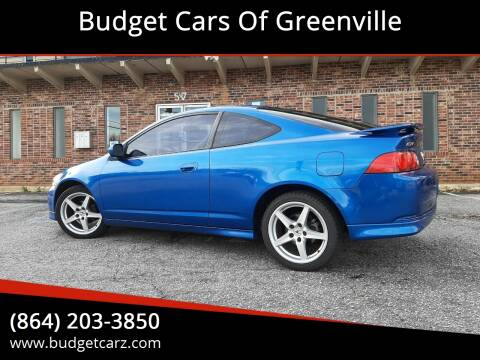 2006 Acura RSX w/Leather for sale at Budget Cars Of Greenville in Greenville SC