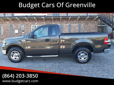 2005 Ford F-150 XL for sale at Budget Cars Of Greenville in Greenville SC