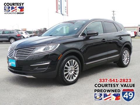 Courtesy Lincoln Lafayette La >> Lincoln For Sale In Lafayette La Courtesy Value Pre Owned I 49