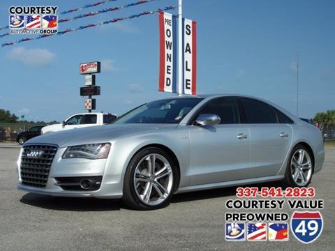 2013 Audi S8 for sale in Lafayette, LA