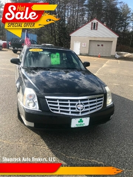 2007 Cadillac DTS Luxury I for sale at Shamrock Auto Brokers, LLC in New Hampton NH