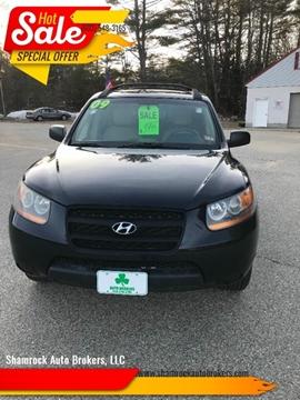2009 Hyundai Santa Fe GLS for sale at Shamrock Auto Brokers, LLC in New Hampton NH