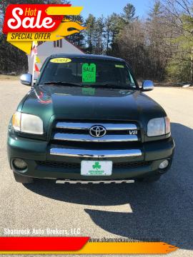 2004 Toyota Tundra SR5 for sale at Shamrock Auto Brokers, LLC in New Hampton NH
