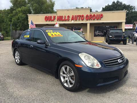 Infiniti G35 For Sale In Mississippi Carsforsale