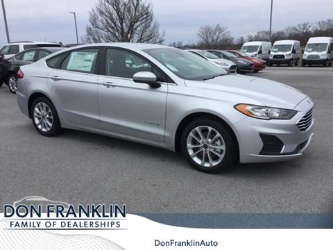 Don Franklin London Ky >> 2019 Ford Fusion Hybrid For Sale In London Ky