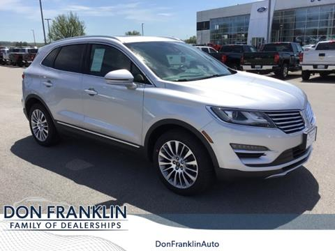 Don Franklin London Ky >> 2017 Lincoln Mkc For Sale In London Ky