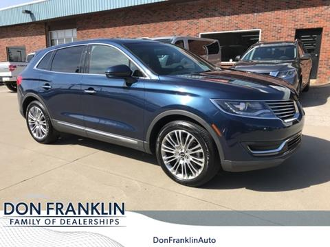 Don Franklin London Ky >> 2017 Lincoln Mkx For Sale In London Ky