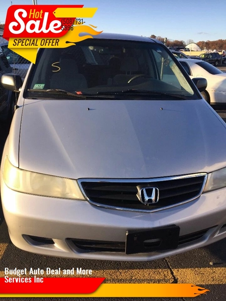 2003 Honda Odyssey for sale at Budget Auto Deal and More Services Inc in Worcester MA