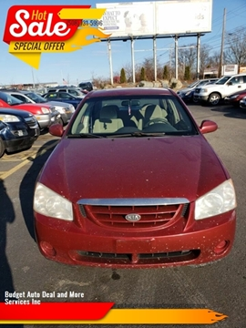 2006 Kia Spectra for sale at Budget Auto Deal and More Services Inc in Worcester MA