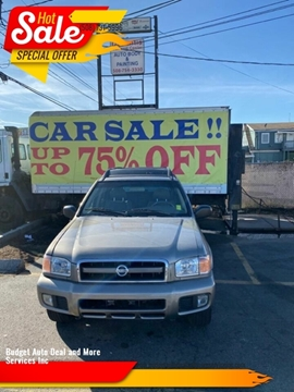 2004 Nissan Pathfinder for sale at Budget Auto Deal and More Services Inc in Worcester MA