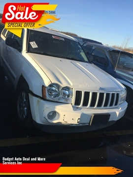 2007 Jeep Grand Cherokee for sale at Budget Auto Deal and More Services Inc in Worcester MA