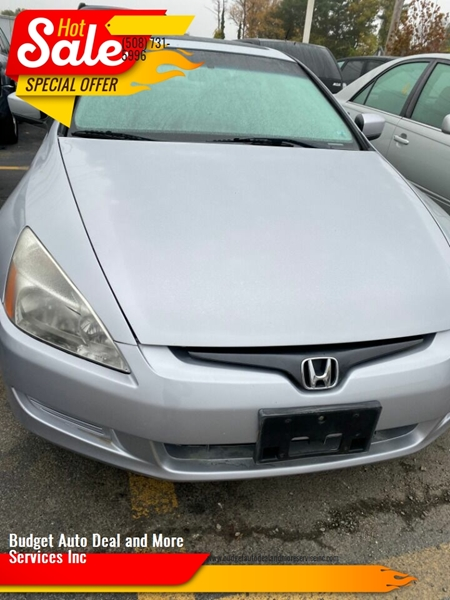 2005 Honda Accord for sale at Budget Auto Deal and More Services Inc in Worcester MA