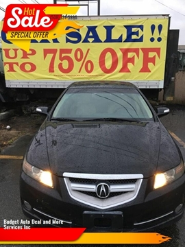 2008 Acura TL for sale at Budget Auto Deal and More Services Inc in Worcester MA