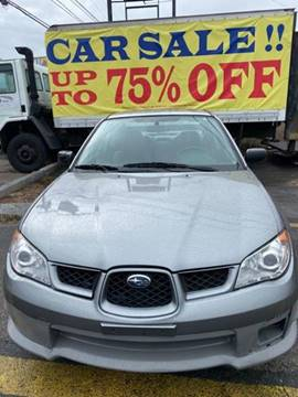 2007 Subaru Impreza for sale at Budget Auto Deal and More Services Inc in Worcester MA