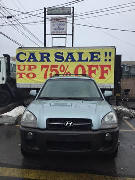 2006 Hyundai Tucson for sale at Budget Auto Deal and More Services Inc in Worcester MA