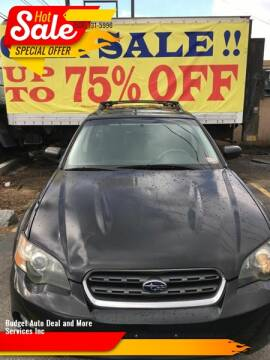 2005 Subaru Outback for sale at Budget Auto Deal and More Services Inc in Worcester MA