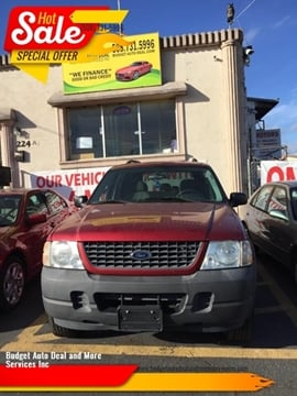 2004 Ford Explorer for sale at Budget Auto Deal and More Services Inc in Worcester MA