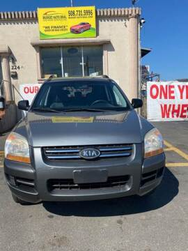 2008 Kia Sportage for sale at Budget Auto Deal and More Services Inc in Worcester MA