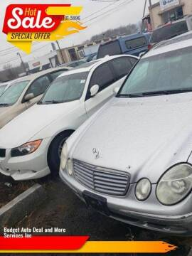 2005 Mercedes-Benz E-Class for sale at Budget Auto Deal and More Services Inc in Worcester MA