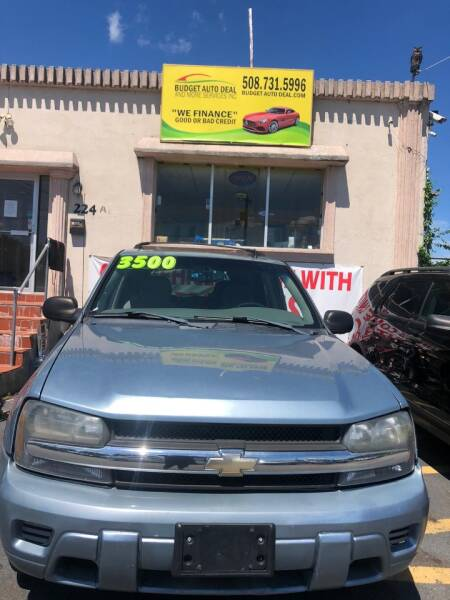 2006 Chevrolet TrailBlazer for sale at Budget Auto Deal and More Services Inc in Worcester MA