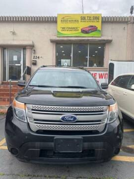 2012 Ford Explorer for sale at Budget Auto Deal and More Services Inc in Worcester MA