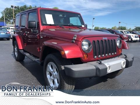 2013 Jeep Wrangler Unlimited for sale in Columbia, KY