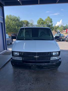 2002 Chevrolet Astro Cargo for sale in Pasadena, TX